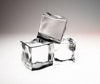 3d model ice cubes
