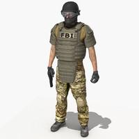 3d model crye multicam uniform