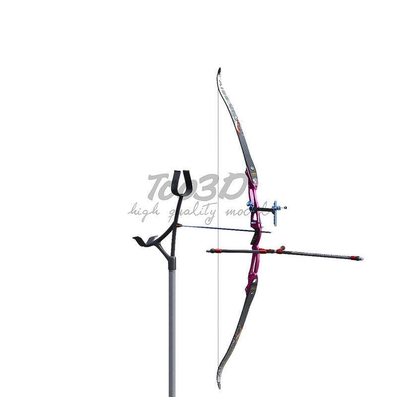 olympic bow arrow max