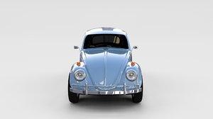 3d obj beetle 1