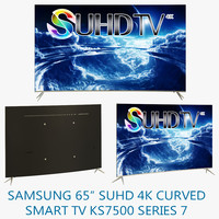 samsung 65 suhd 4k 3d model