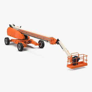 3d telescopic boom generic 4 model