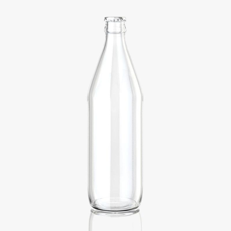 c4d lemonade bottle