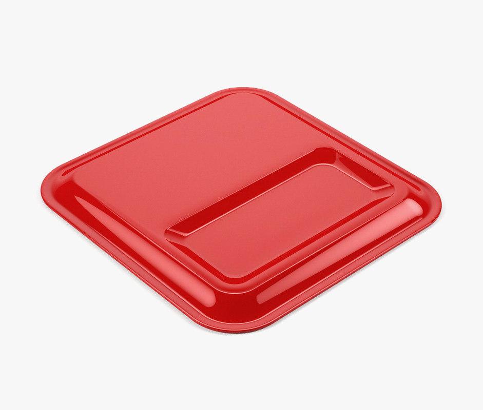 cash plate 3d model
