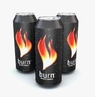 burn 3d model