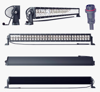 led light bar 3d c4d