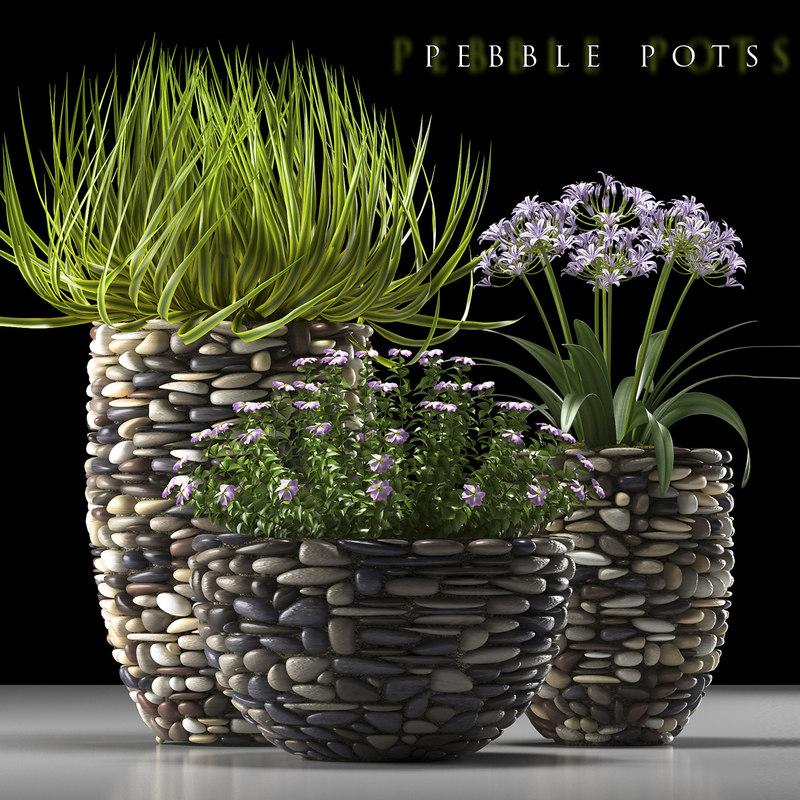 3d plant 57 flowered