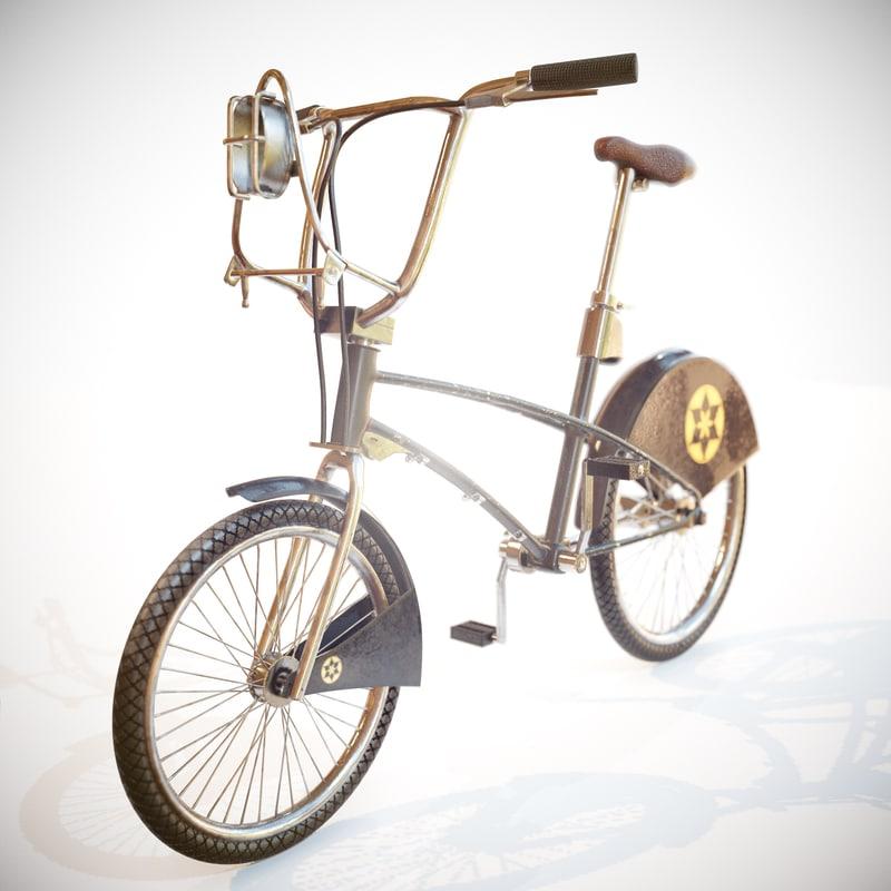 3d model realistic bike