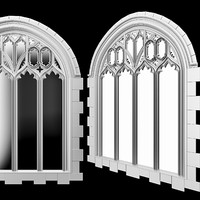 Gothic  arch  window.