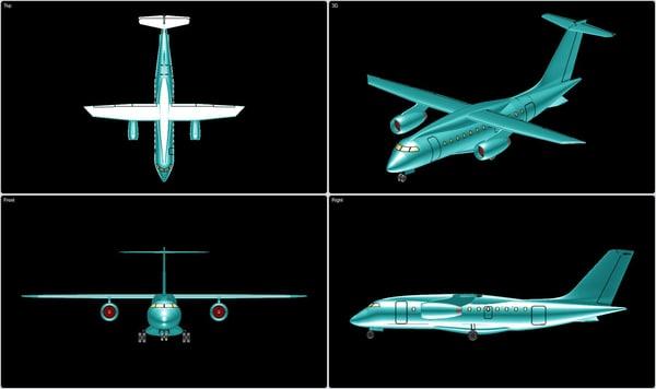 fairchild dornier 328 jet 3d 3ds