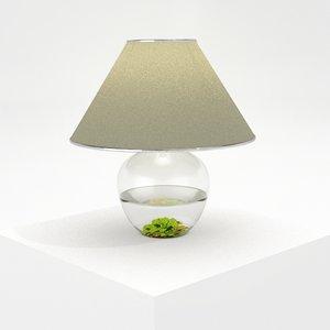 vas lamp 3d model