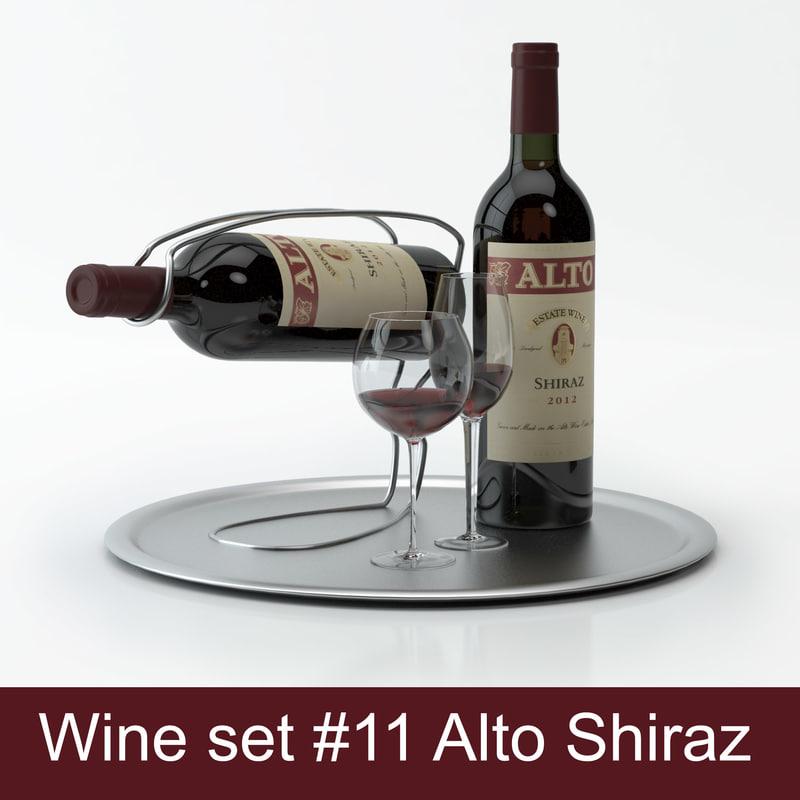 alcohol set 11: alto 3d max