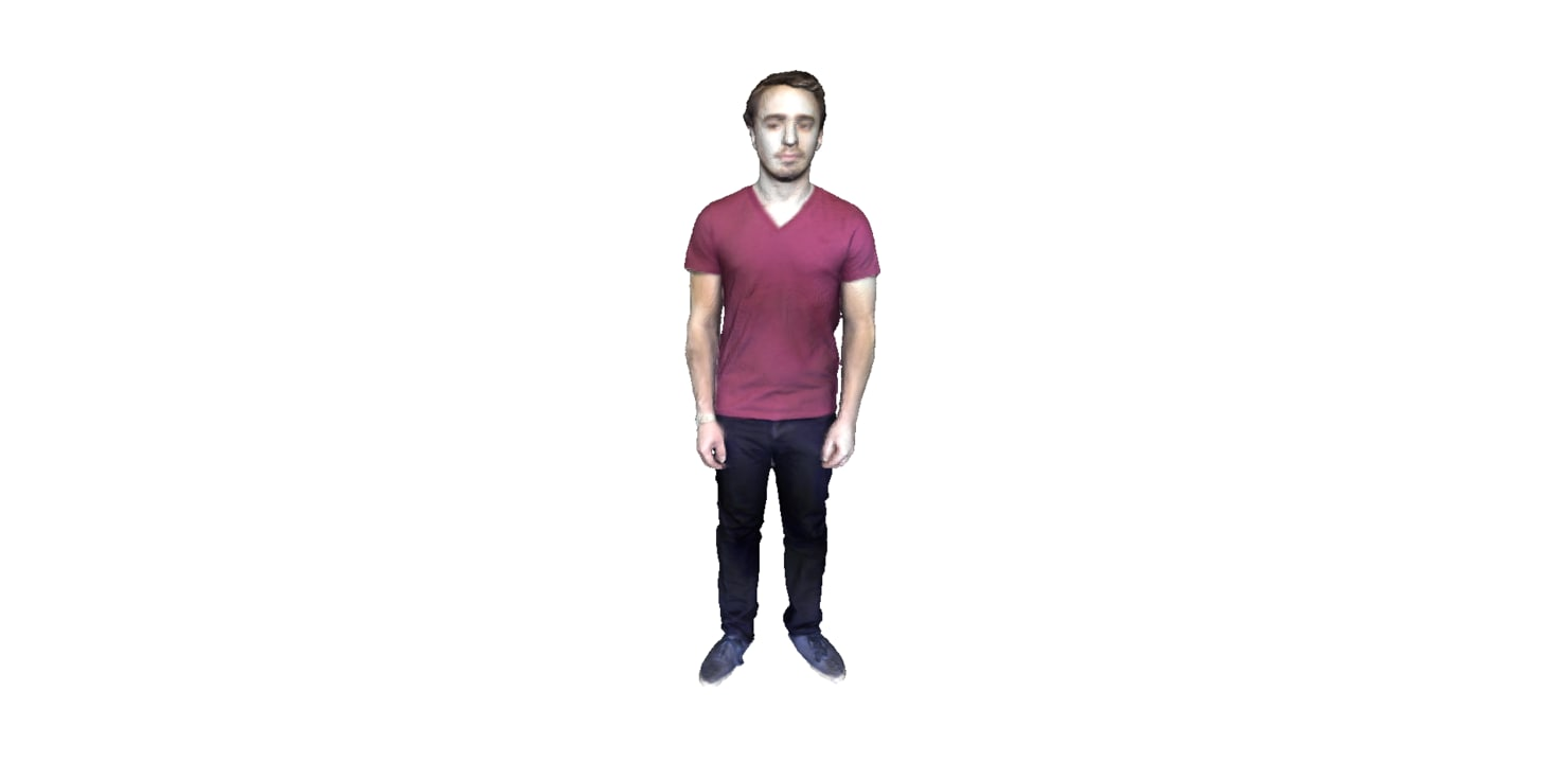 3d model of man