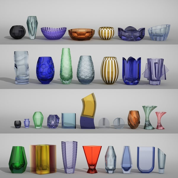 max moser vases 33 items