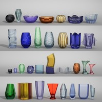 Moser Vases (33 items)