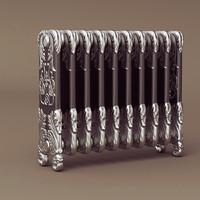 3d classic radiator model