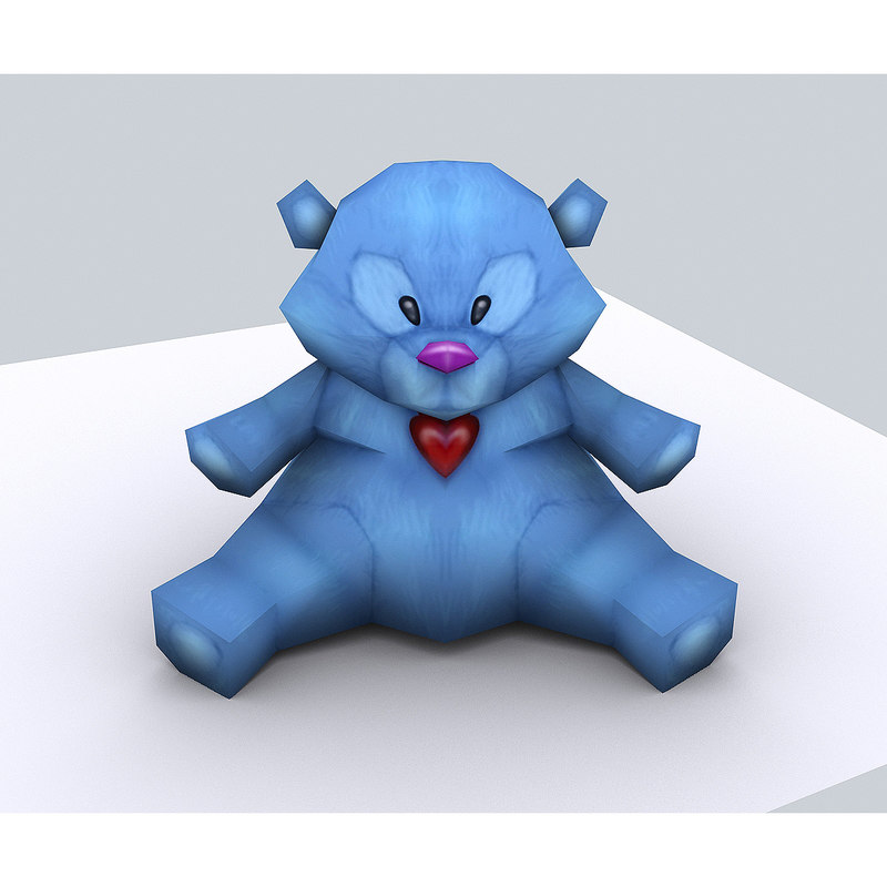 3d model toy teddy bear -