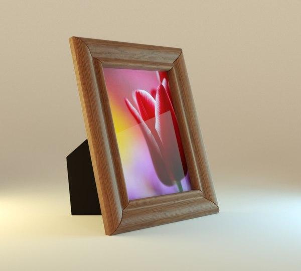 obj blender frame