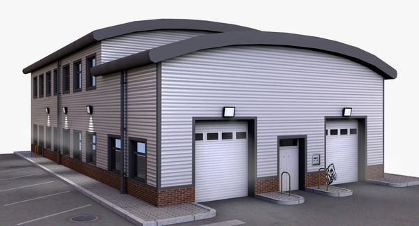 3d model distribution building