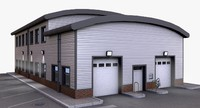 3d model distribution building