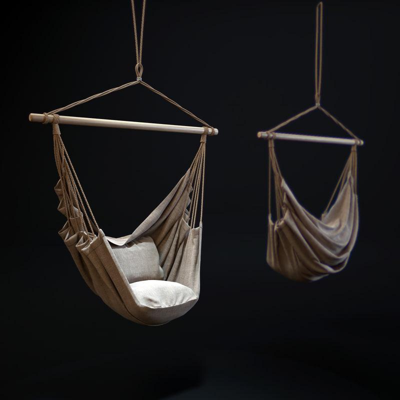 outdoor-hanging-chair 3d model