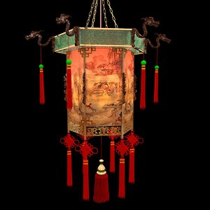 chinese palace 3d max