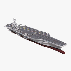 3d uss george washington cvn-73 model