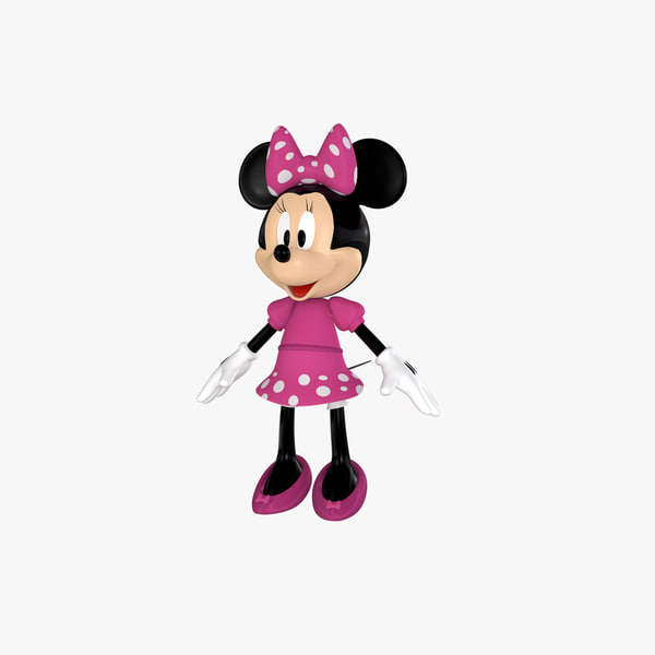 3d model minnie mouse