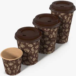 fbx coffee cups takeout design