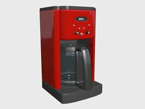 3d model coffee maker