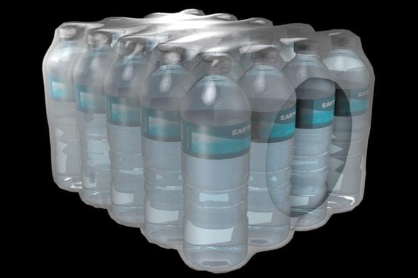 water bottle case 3d max