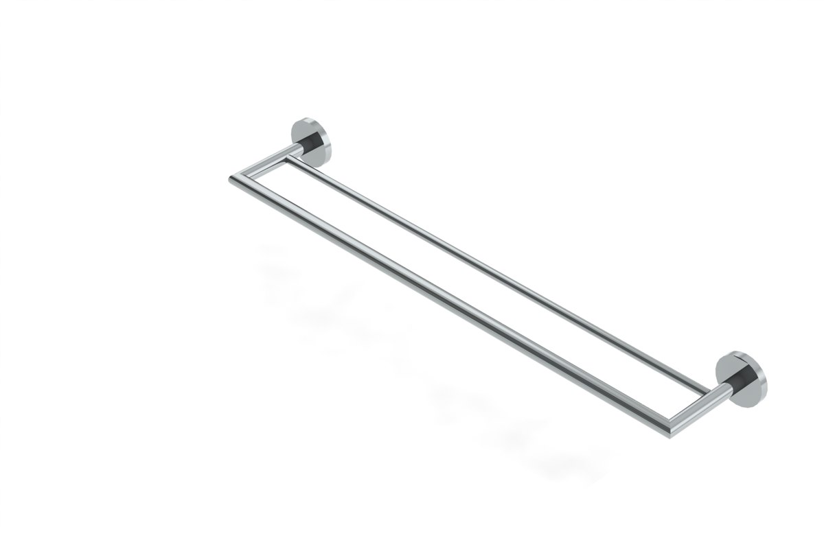3d double towel bar
