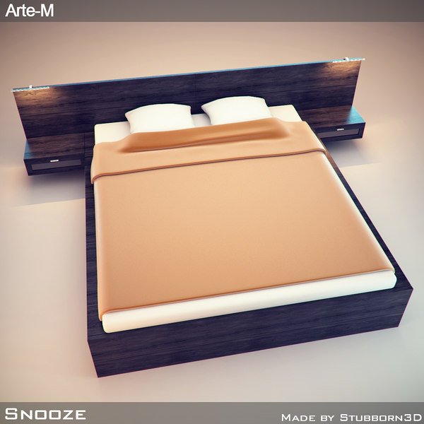 bed snooze 3d 3ds