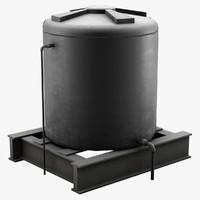 water tank fbx