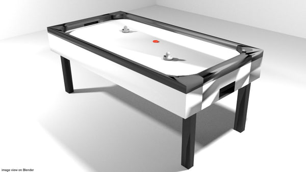 3d arcade ice hockey model