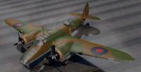 3d bristol blenheim mk-5 bomber