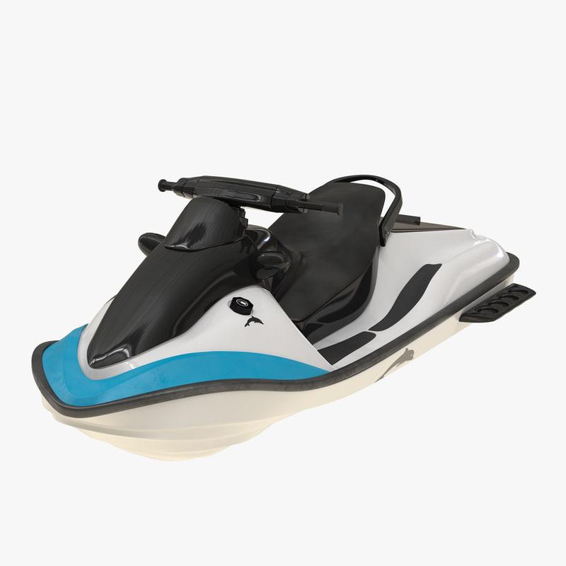 jet ski generic 3d model