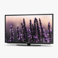 Samsung LED H5203 Series Smart TV 50 inch 3D Model