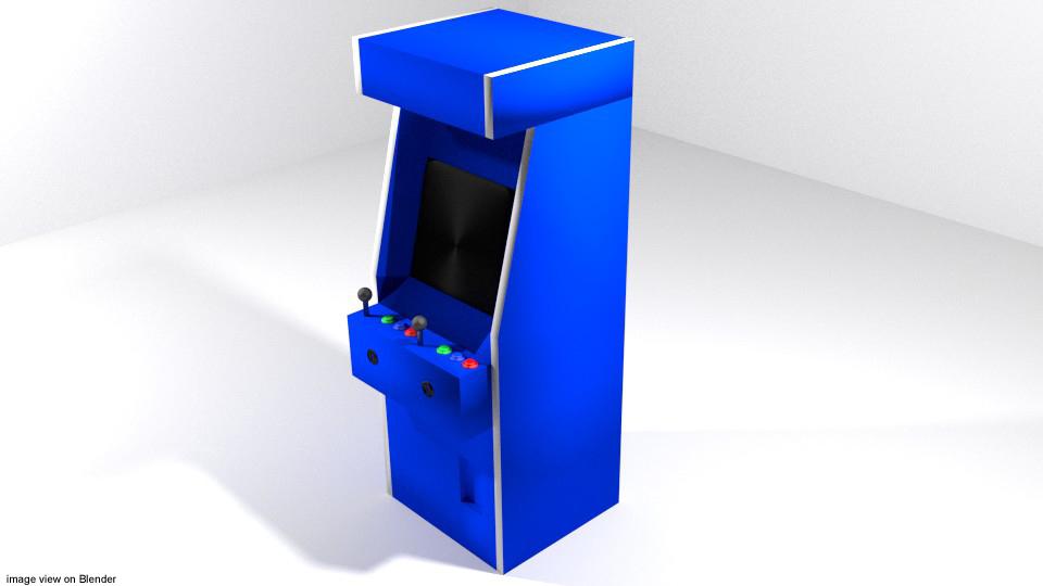 3d arcade video