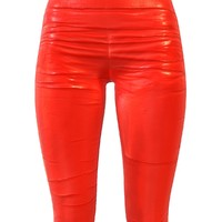 3d model of legging red