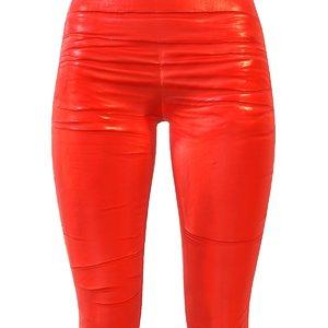 3d model legging red