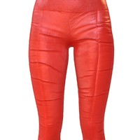 obj legging red