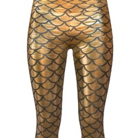 3d legging gold