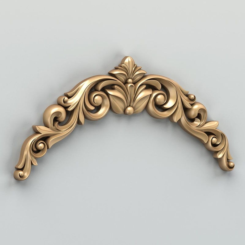 ma carved horizontal decor