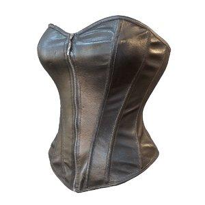 leather corset 3d model