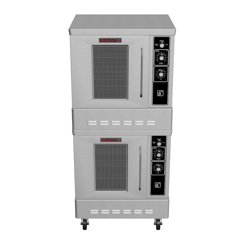 3d model restaurant oven convection