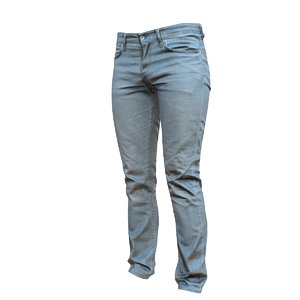 jeans blue pants 3d model