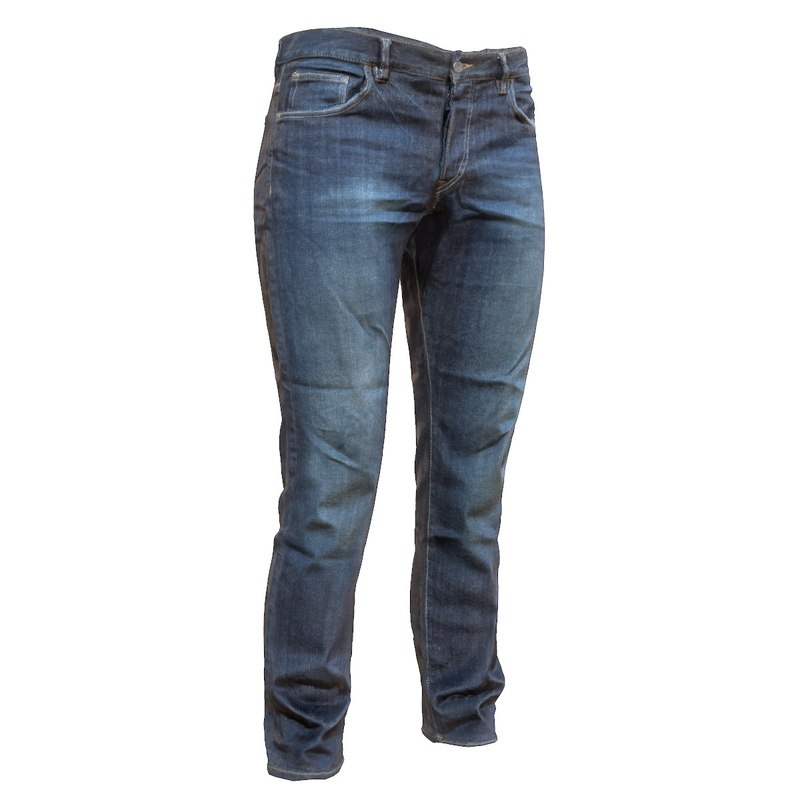 3d model of jeans blue trousers