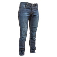 Dark blue jeans trousers