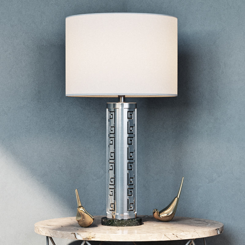 muse table lamp 3d model